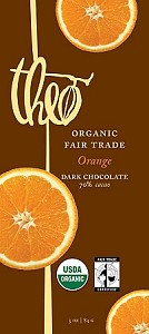 Organic & Fair Trade Chocolate bar- 70% Cocoa Orange