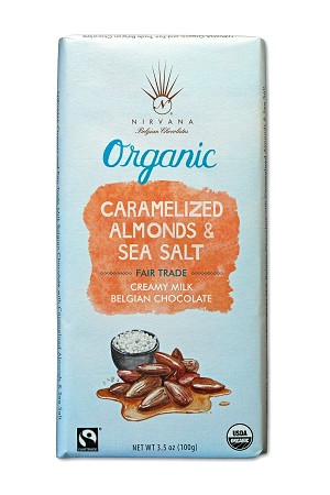 Nirvana- Caramelized Almonds & Sea Salt