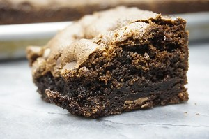 No Flour Brownies