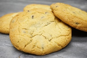 No Flour Chocolate Chip Cookie